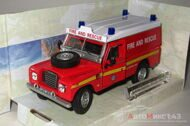 Land Rover Series III 109 Fire And Rescue, красный