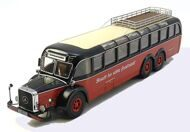 Mercedes-Benz O10000 bus, red/black