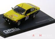 Opel Kadett C GT-E No.13, Rally Great Britain Rohrl-Broad -1977, желтый/черный