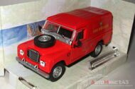 Land Rover Series III 109 Fire Brigade, красный