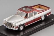 Mercedes-Benz 600 Pick Up, metallic red-silver