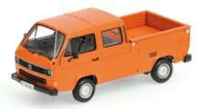 Volkswagen T3 DOKA-PRITSCHE - ORANGE - 1983