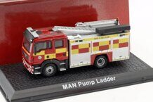1/72 MAN TGL Pump Ladder Fire Truck пожарная лестница 2010