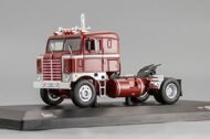 KENWORTH Bullnose (1950), dark red/silver