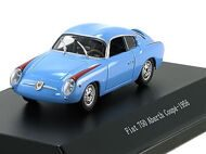 Fiat 750 Abarth Coupe - 1956, blue-red