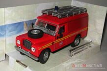 Land Rover Series III 109 Fire And Rescue Service, красный