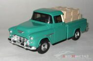 Chevy Cameo Pickup Truck 1955 General Motors, зеленый