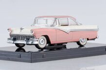 Ford Fairlane Hard Top 1956, Sunset Coral/Colonial White