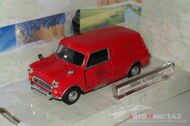 Mini Cooper Royal Mail, красный