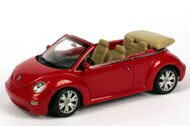 VW New Beetle Cabrio, красный