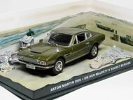 Aston Martin DBS - On Her Majesty's Secret Service, выпуск 12, оливковый