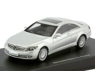 Mercedes-Benz CL 500 Coupe 2006, серебристый