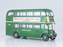 Aec Regent III RT London Country, зеленый