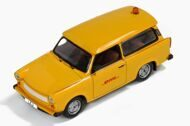 "TRABANT 601S ""Follow Me"" DHL Hub Leipzig - 2001, yellow"